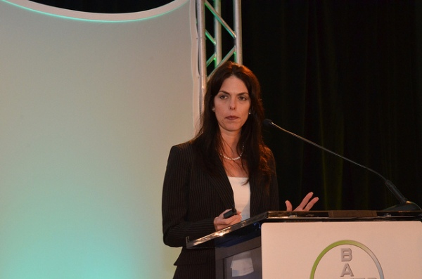 Julie Borlaug, associate director for external relations, Norman Borlaug Institute for International Agriculture was the keynote presentation during the 2014 Ag Issues Forum in San Antonio.