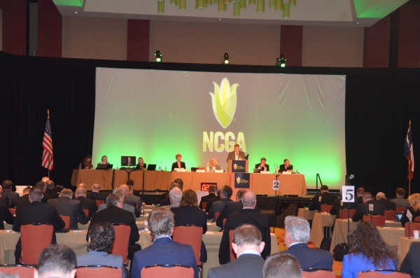 NCGA delegates discussed and voted on policy during the 2014 Corn Congress during the Commodity Classic in San Antonio, Texas on Feb. 27, 2014.